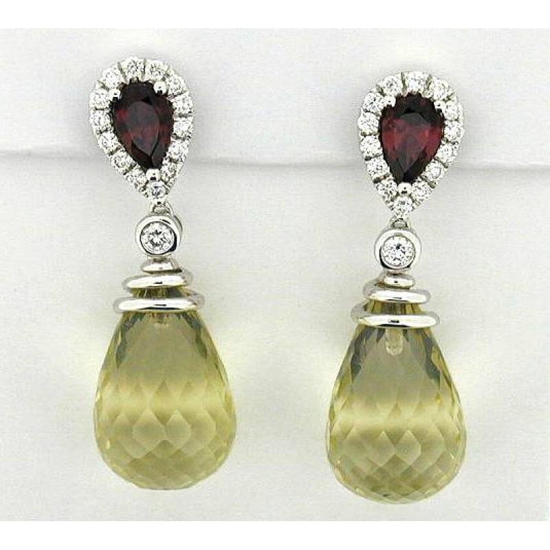 Fashion Tourmaline Earrings